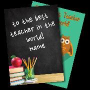 Send Thanks Teacher Cards